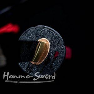 clay tempered full tang blade japanese samurai katana higo fittings sword #HM0012 - hanma-sword