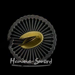 Hand forged damascus folded steel Japanese samurai katana battle ready sword #HM0030 - hanma-sword