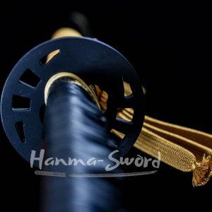 clay tempered japanese samurai kill bill katana battle ready sword #HM0013 - hanma-sword